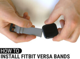 How To Install Fitbit Versa Bands Header