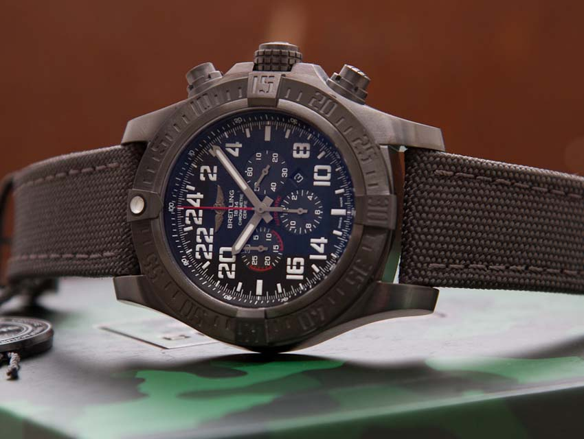 What Your Watch Says About You Adventurist Breitling Super Avenger Military