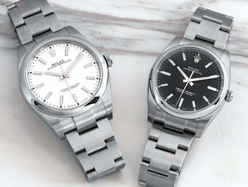 What Your Watch Says About You Minimalist Rolex Oyster Perpetual