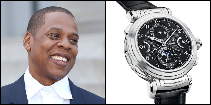 Celebrity Luxury Watch Collections Jay Z Patek Philippe Grand Grandmaster Chime