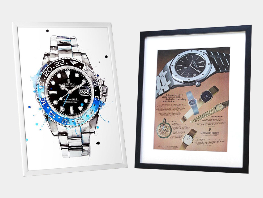 Essential Gift Guide For Watch Enthusiasts Watch Art Originals Prints Posters