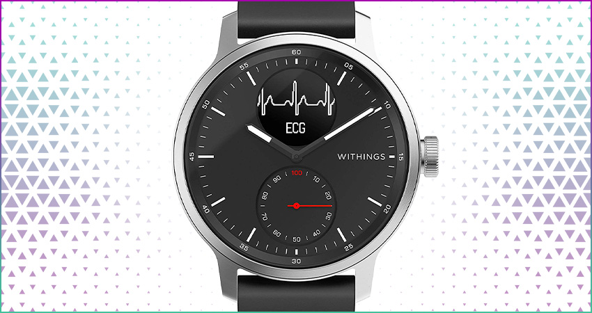 Top 5 Best Hybrid Smartwatches Withings Scanwatch