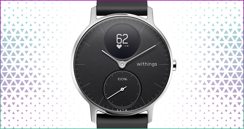 Top 5 Best Hybrid Smartwatches Withings Steel Hr