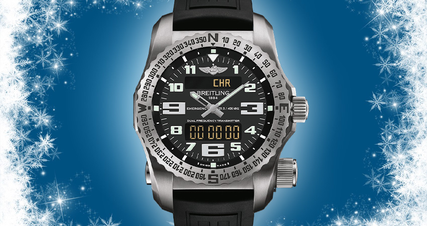 Top 7 Watches For Winter Breitling Emergency