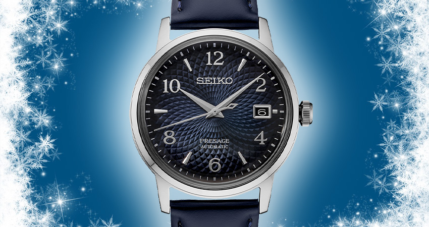 Top 7 Watches For Winter Seiko Presage Cocktail Time