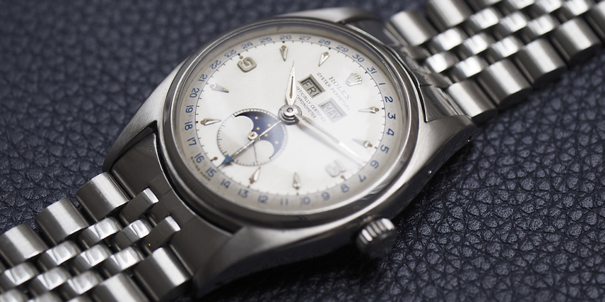 Most Expensive Rolex Watches Ever Sold #10 Rolex Triple Calendar 6062