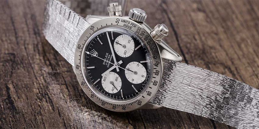 Most Expensive Rolex Watches Ever Sold #2 Rolex Daytona 6265 Unicorn