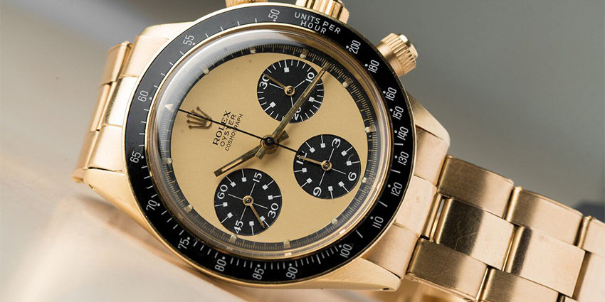 Most Expensive Rolex Watches Ever Sold #5 Rolex Daytona 6263 Legend