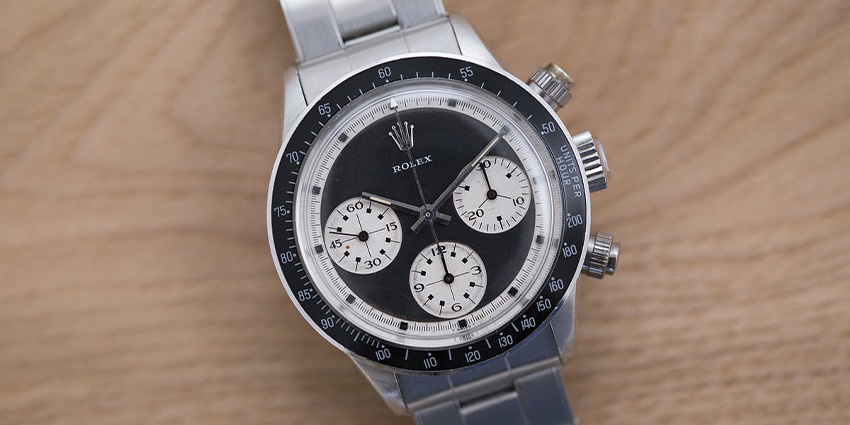 Most Expensive Rolex Watches Ever Sold #7 Rolex Daytona 6240 Neanderthal