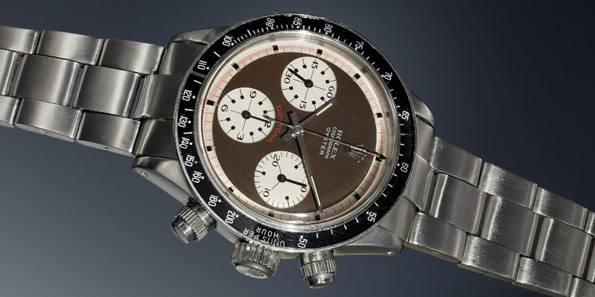 Most Expensive Rolex Watches Ever Sold #9 Rolex Daytona 6263 Oyster Sotto Updated