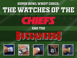 Super Bowl Wrist Check Watches Of Chiefs And Buccaneers Headert