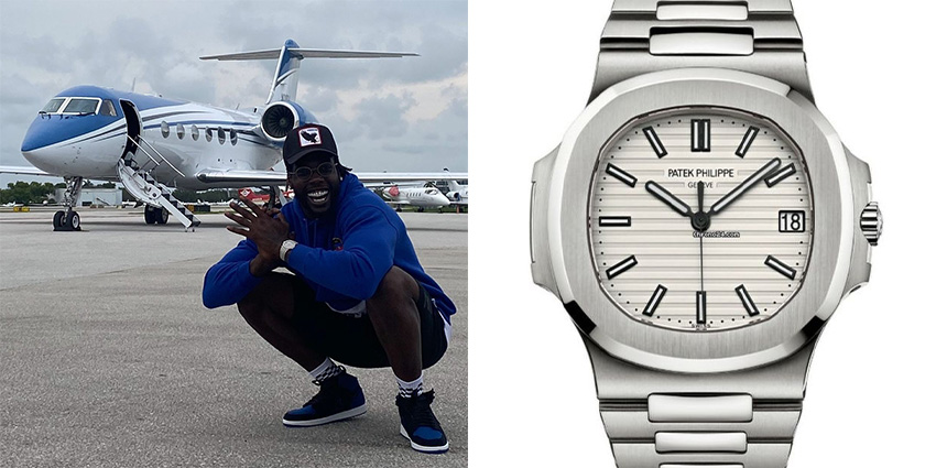 Super Bowl Wrist Check Watches Of Chiefs And Buccaneers Jason Pierre Paul Patek Philippe 2