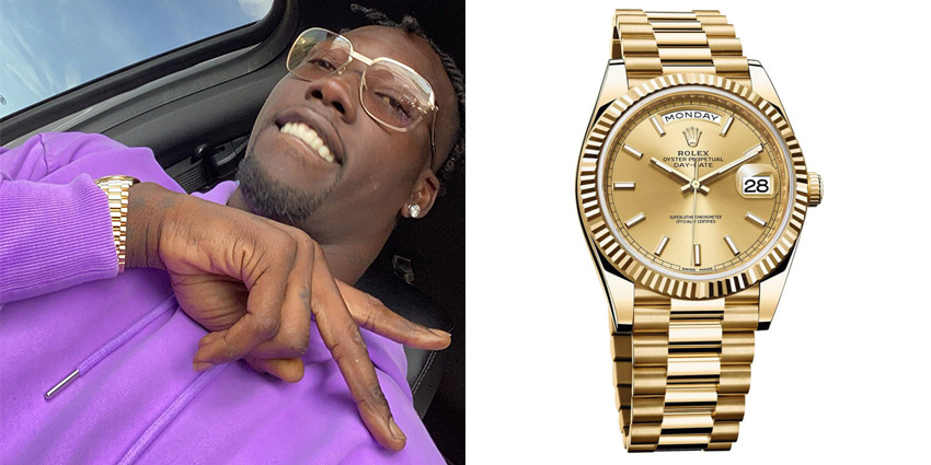 Super Bowl Wrist Check Watches Of Chiefs And Buccaneers Jason Pierre Paul Rolex 2