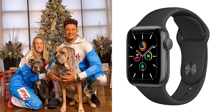 Super Bowl Wrist Check Watches Of Chiefs And Buccaneers Patrick Mahomes Apple 2