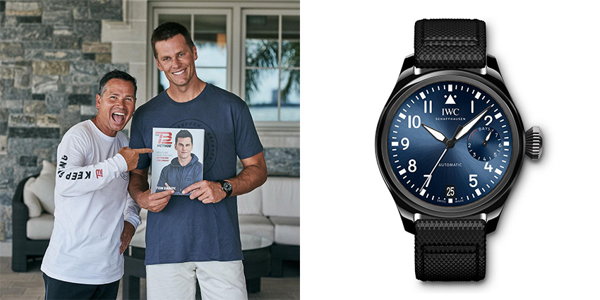 Super Bowl Wrist Check Watches Of Chiefs And Buccaneers Tom Brady Iwc 2