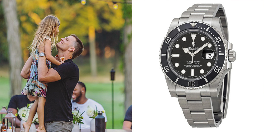 Super Bowl Wrist Check Watches Of Chiefs And Buccaneers Tom Brady Rolex 2