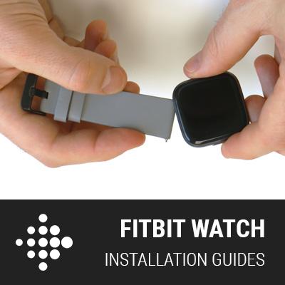 Fitbit Band Installation Guides