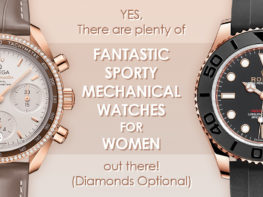 Fantastic Sporty Mechanical Watches For Women Header