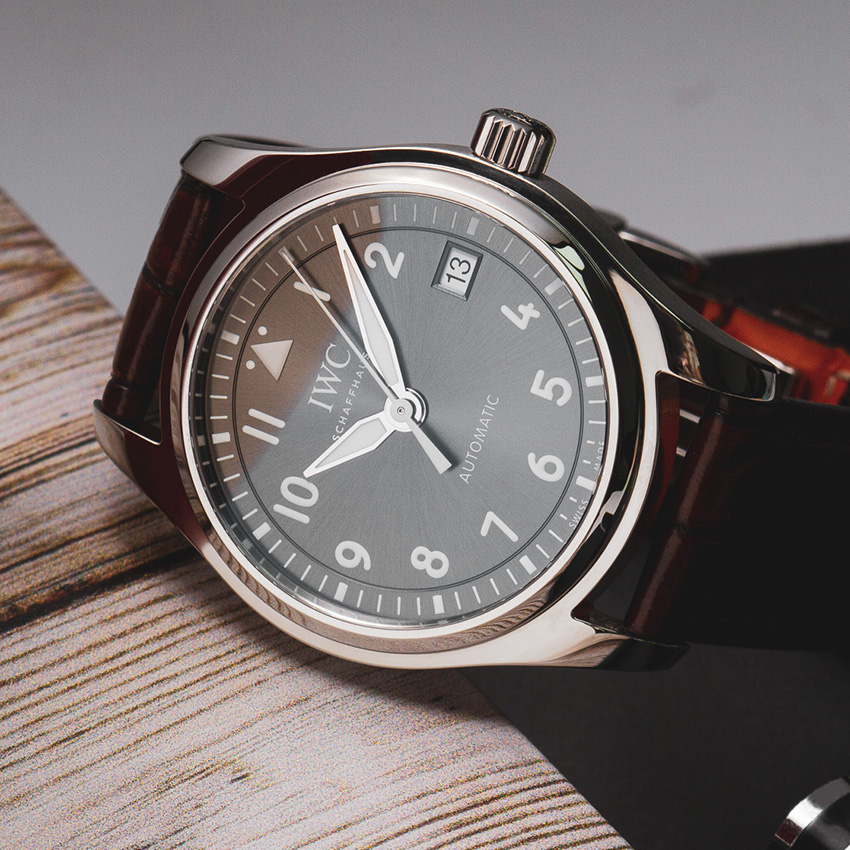 Fantastic Sporty Mechanical Watches For Women Iwc Pilot Watch Automatic 36