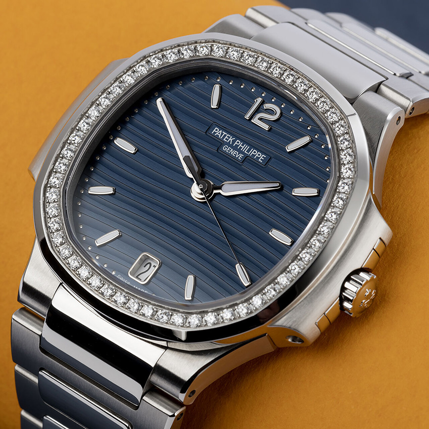Fantastic Sporty Mechanical Watches For Women Patek Philippe Nautilus