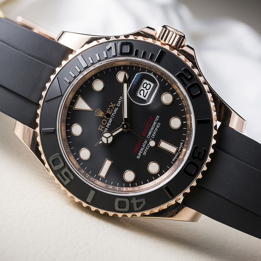 Fantastic Sporty Mechanical Watches For Women Rolex Yacht Master 37