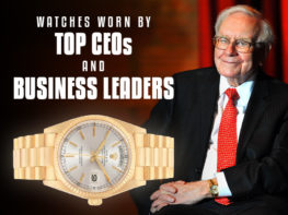 Watches Worn By Top Ceos And Business Leaders Header