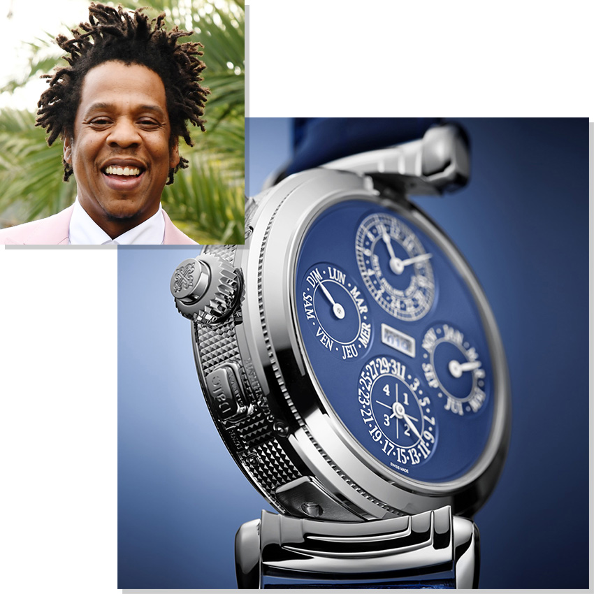 Watches Worn By Top Ceos And Business Leaders Jay Z Shawn Carter Patek Philippe Grandmaster Chime 6300g