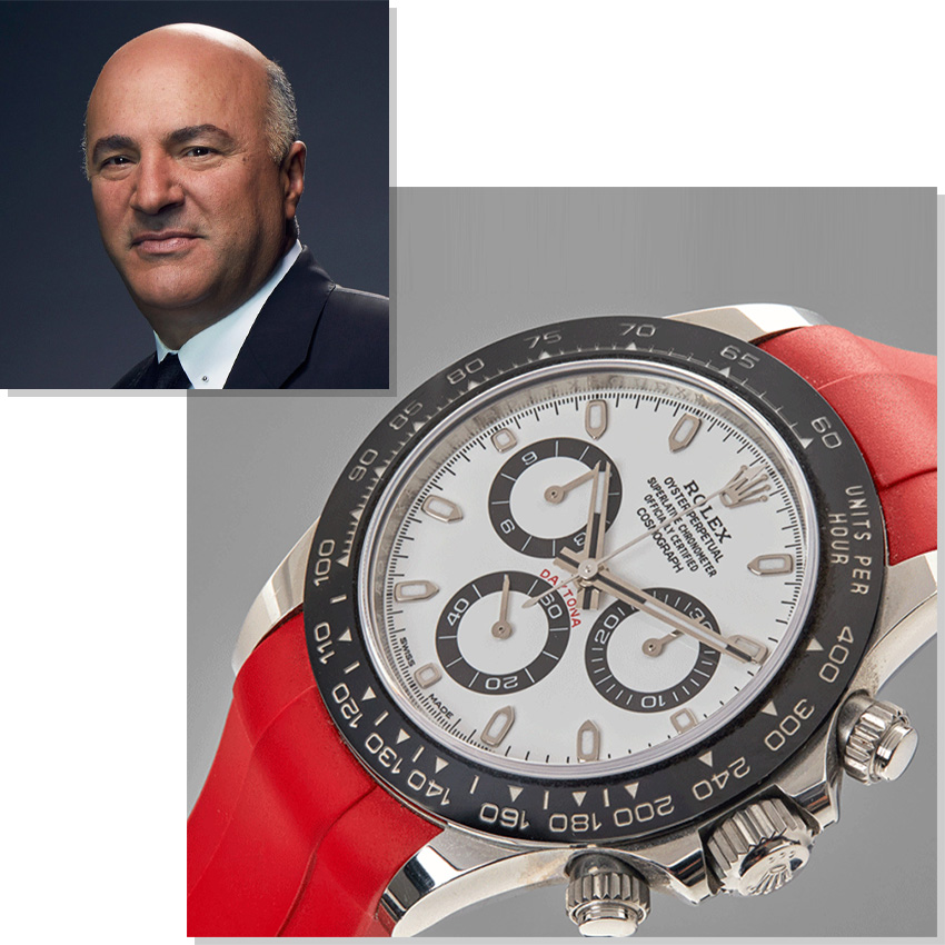 Watches Worn By Top Ceos And Business Leaders Kevin O'leary Rolex Daytona Cosmograph 116500LN
