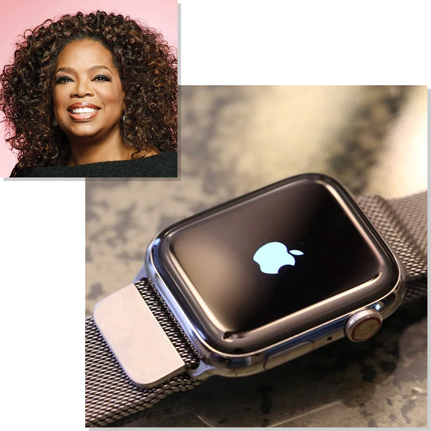 Watches Worn By Top Ceos And Business Leaders Oprah Winfrey Apple Watch