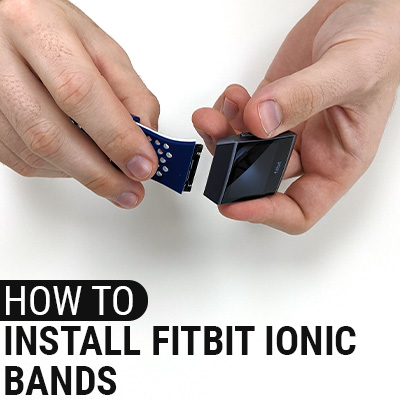 How To Install Fitbit Ionic Bands