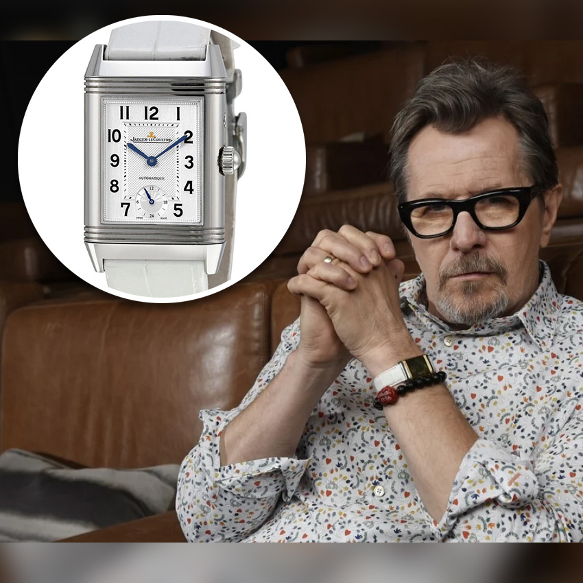 Academy Award Nomiees And Their Watches Gary Oldman Jaeger Lecoultre Reverso