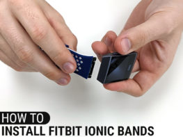 How To Install Fitbit Ionic Bands Header