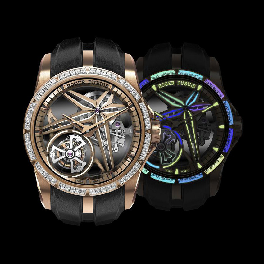 New Releases From Watches & Wonders 2021 Roger Dubuis Excalibur Glow Me Up