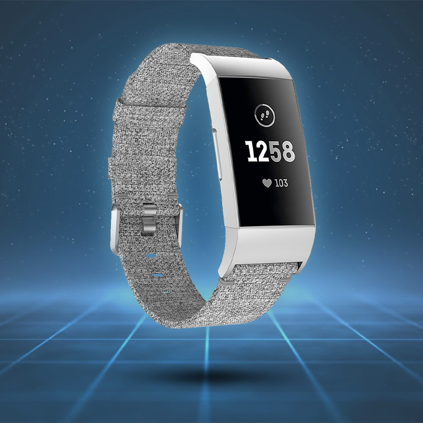 Fitbit Charge 3 & 4 Strap Style Guide Canvas