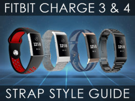 Fitbit Charge 3 & 4 Strap Style Guide Header Updated