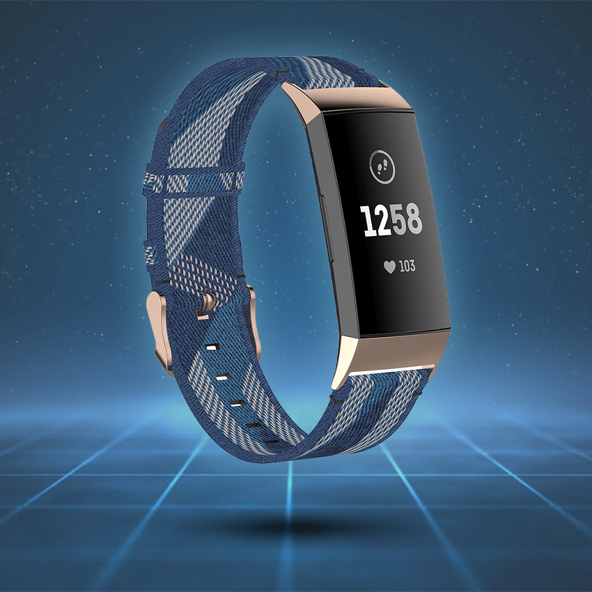 Fitbit Charge 3 & 4 Strap Style Guide Woven Nylon