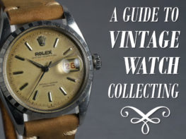 Guide To Vintage Watch Collecting Header