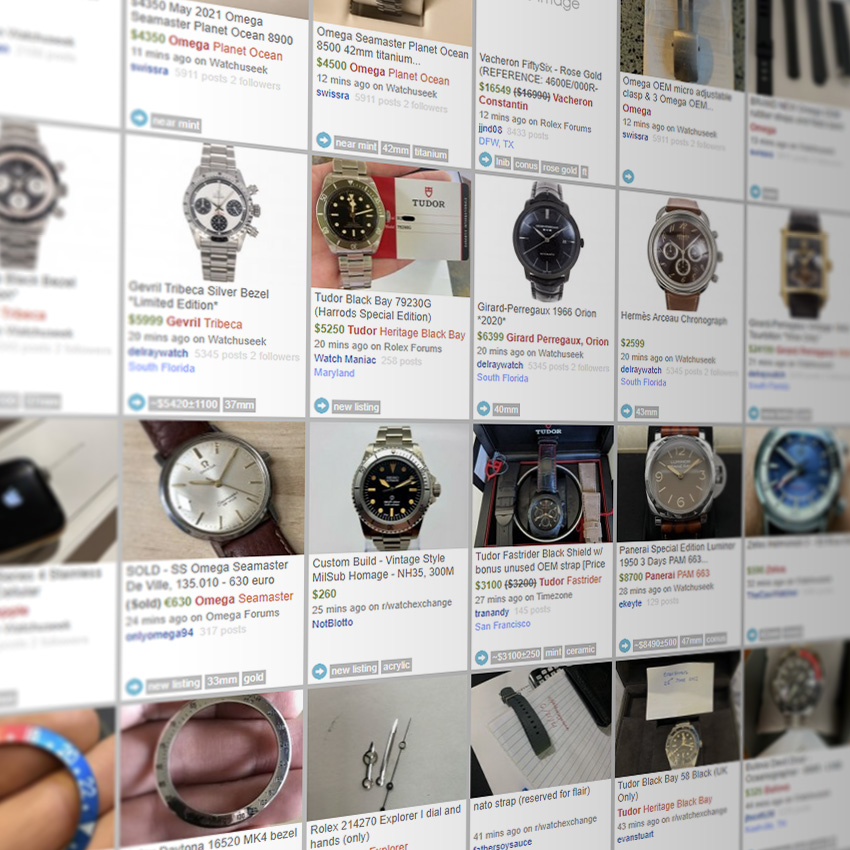 Guide To Vintage Watch Collecting Online Store Research