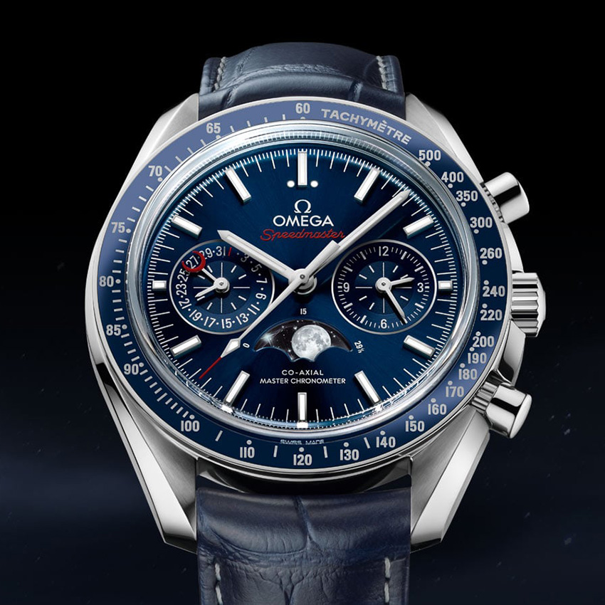 History Of The Omega Speedmaster Header Two Counter Moonphase