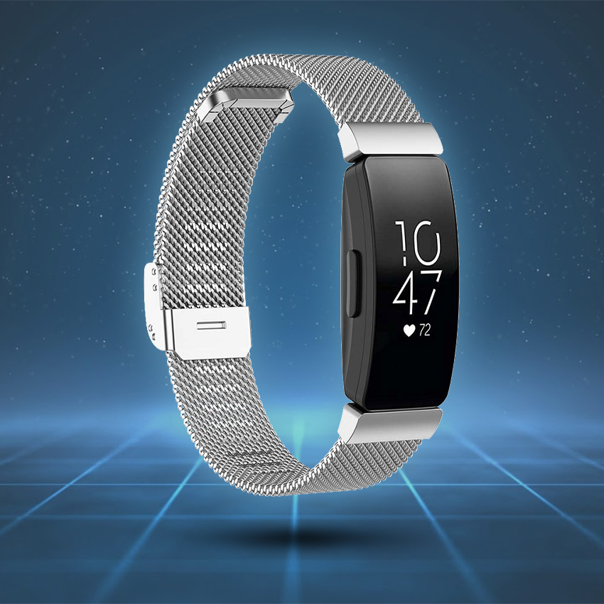 Fitbit Inspire Strap Style Guide Milanese Mesh