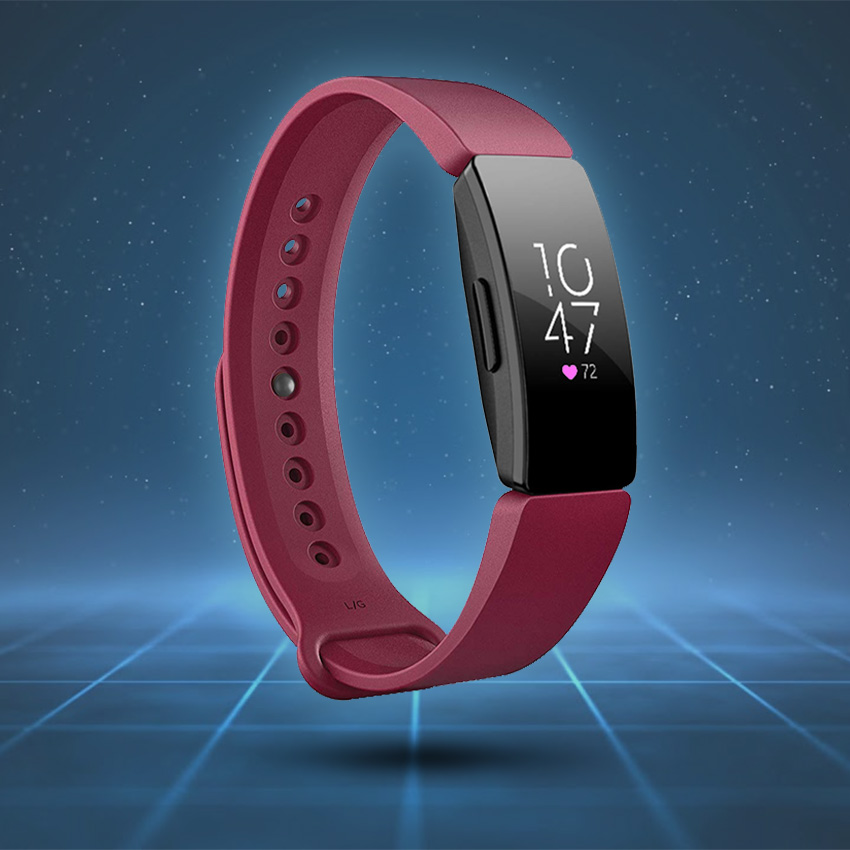 Fitbit Inspire Strap Style Guide Silicone Rubber Pin & Tuck