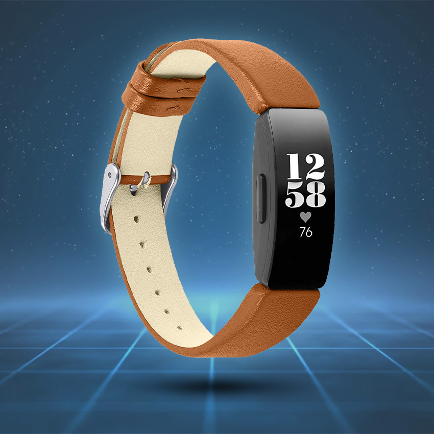 Fitbit Inspire Strap Style Guide Smooth Leather