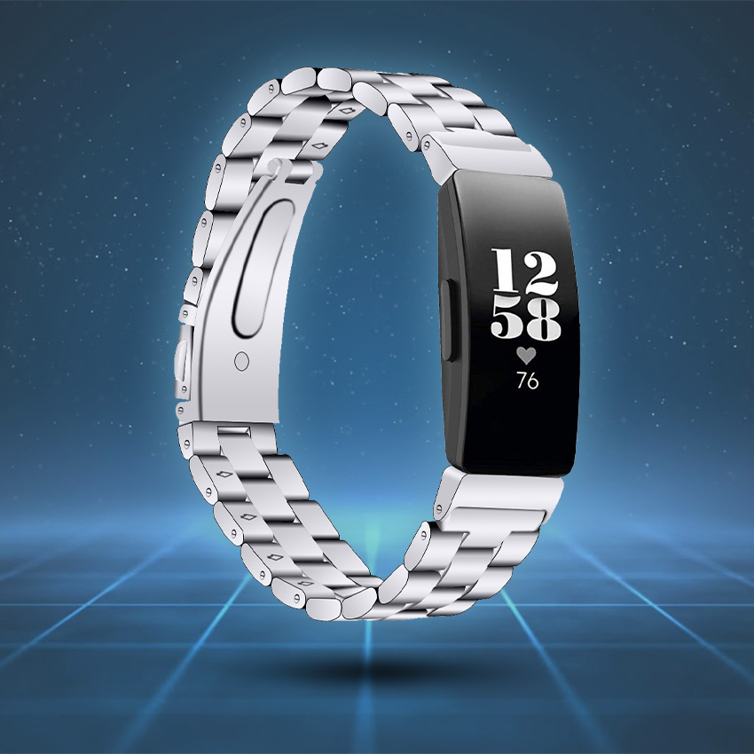 Fitbit Inspire Strap Style Guide Stainless Steel