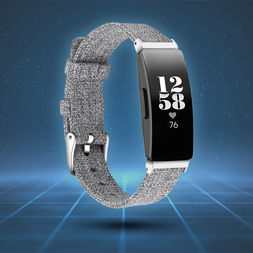 Fitbit Inspire Strap Style Guide Woven Canvas