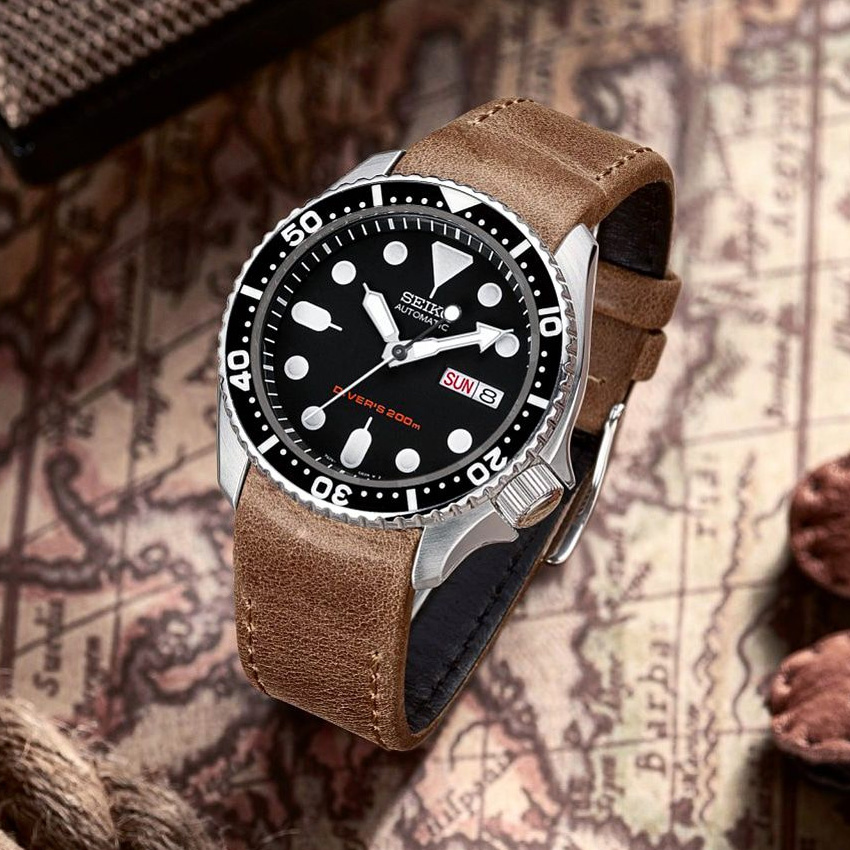 Top Strap Monster Watches Seiko Automatic Diver Skx007